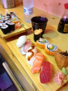 アモールの下にあるメルカド内にある寿司バー